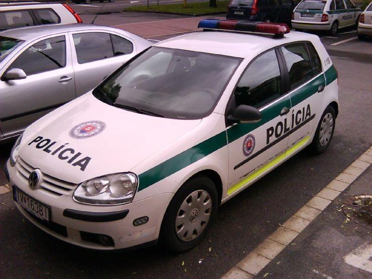Slovak Police Force Volkswagen Golf