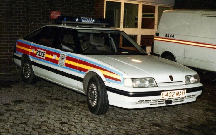 Met Police Rover