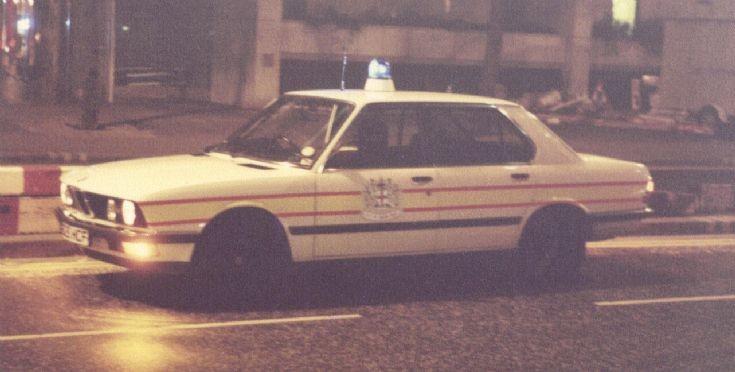 City Police BMW