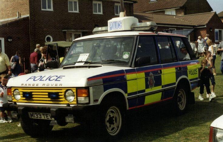 Essex Police Range Rover
