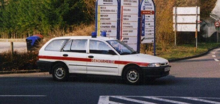 Austrian Gendarmerie patrolcar