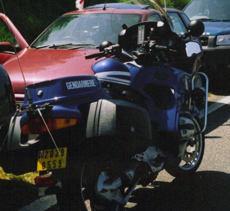 Gendarmerie BMW motorcycle