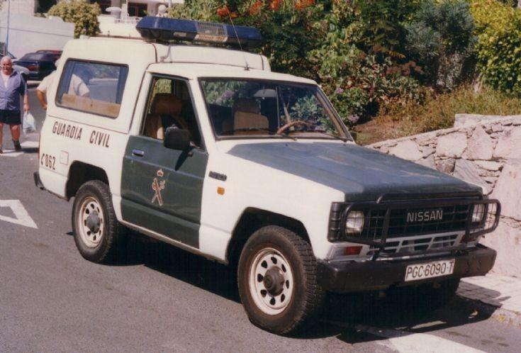 Gran Canaria Nissan Guardia Civil