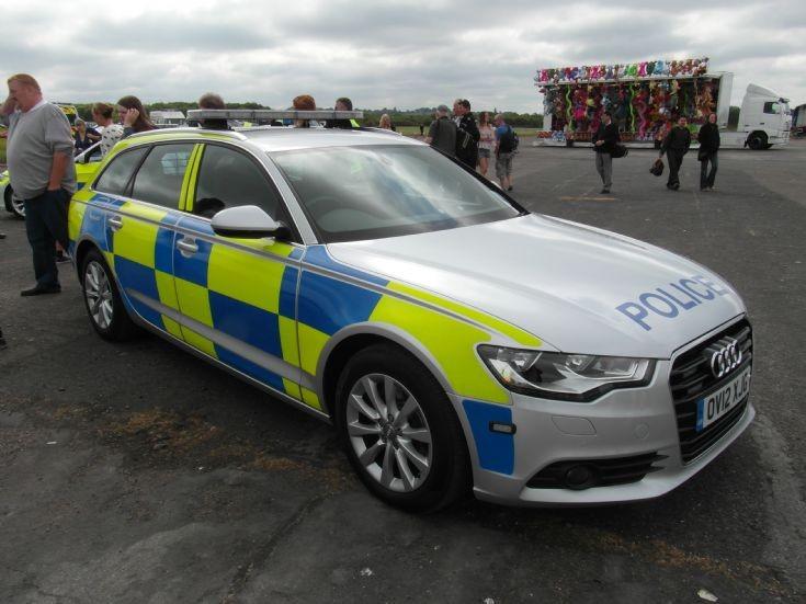 Audi Policecar OV12XJG