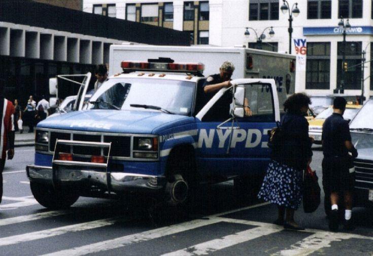 NYPD Truck GMC