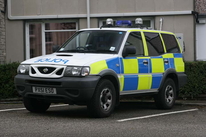 Cumbria Constabulary Nissan Windermere