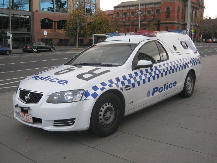 Victoria Police Holden Divi Van unit R-97.