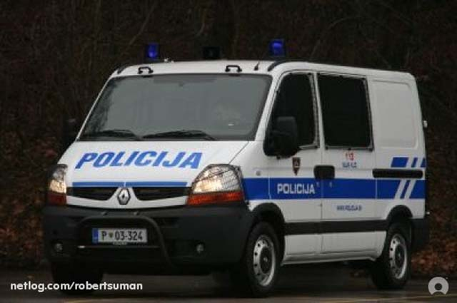 Intervention police car  Slovenian police