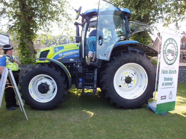 Derbyshire Police Tractor