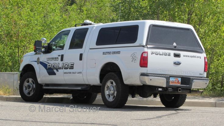 Ford Unified Police Greater Salt Lake back