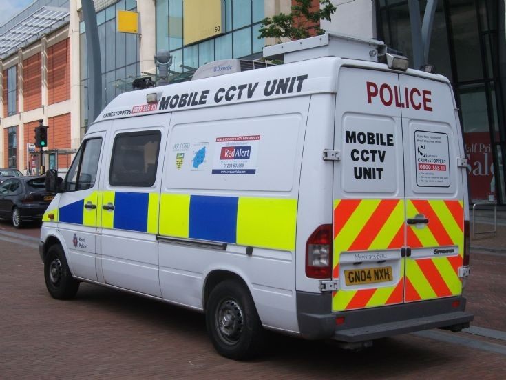 KPS Mobile CCTV rear