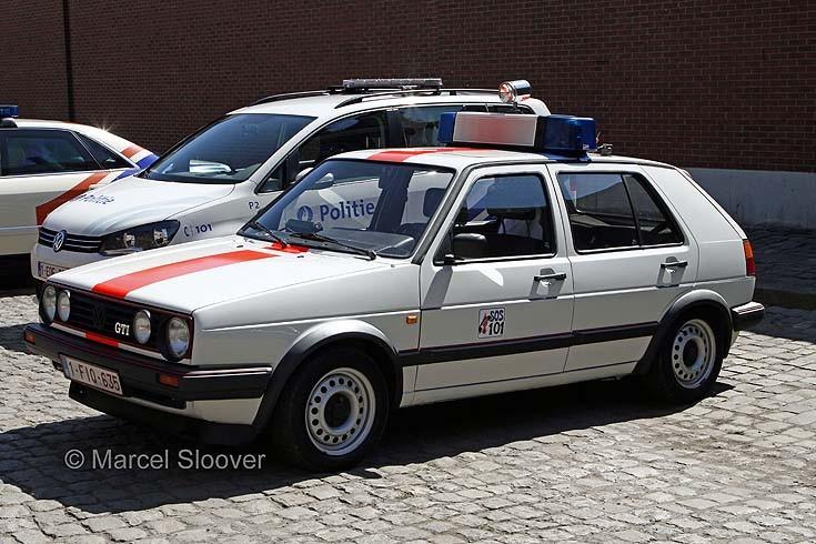 VW Golf GTI Rijkswacht