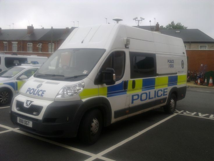 Peugeot Dog Van West Midlands Police