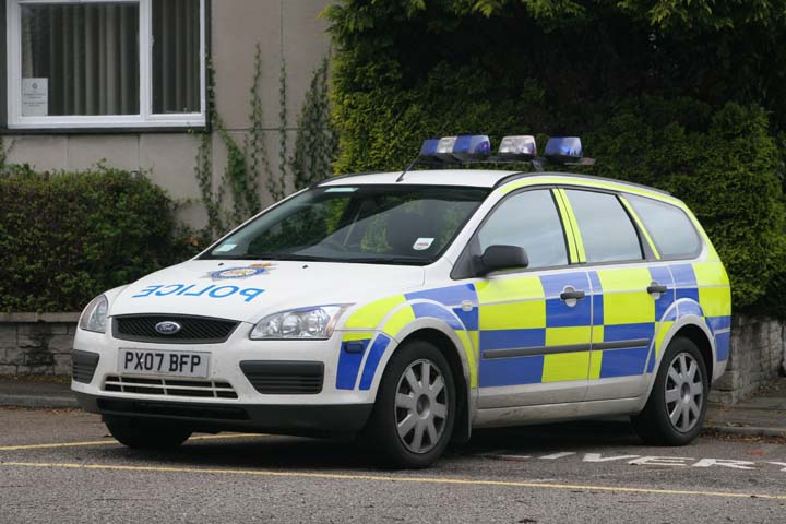 Cumbria Constabulary Ford Focus  Windermere