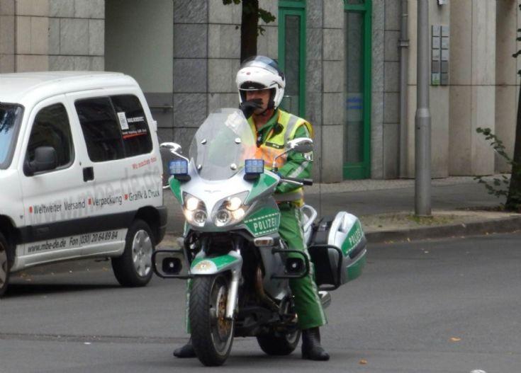 BMW Motorcycle - Berlin
