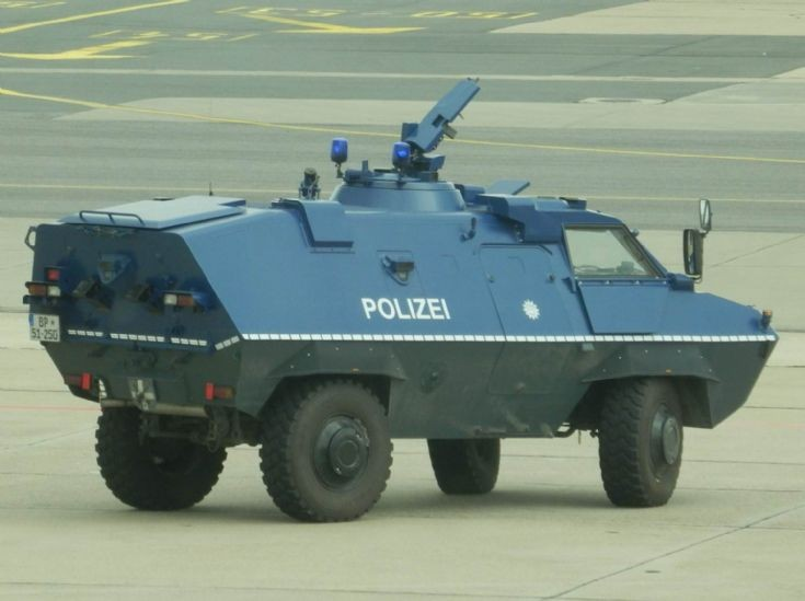 Armored Vehicle - Berlin