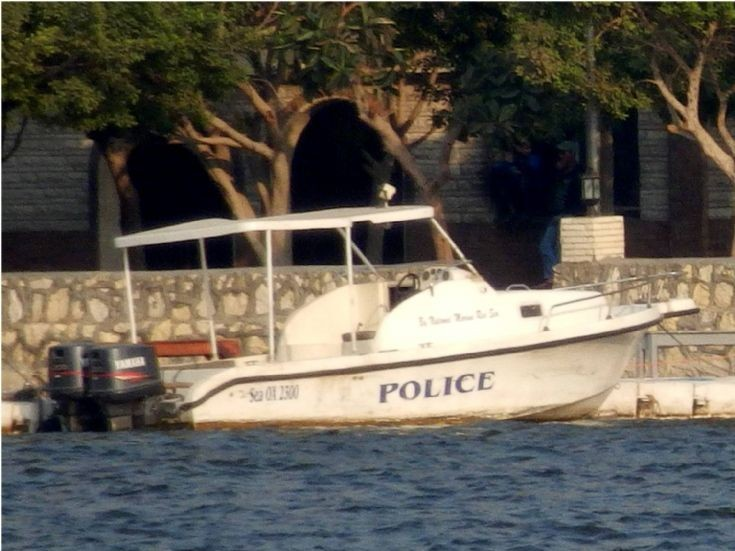 Police Boat - Cairo