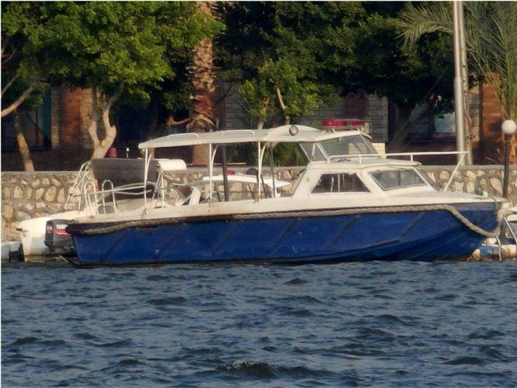 Police Boat - Cairo