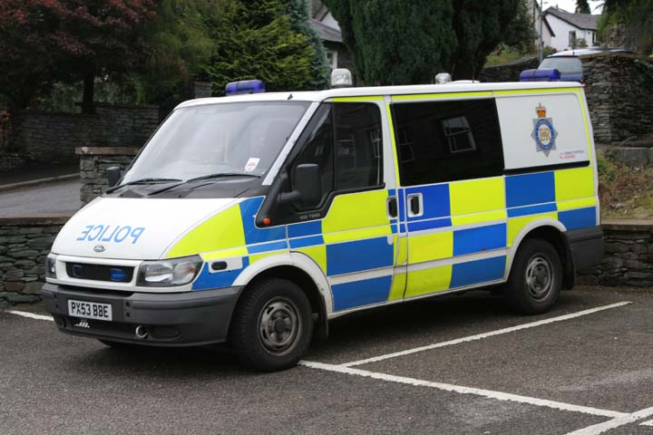 Cumbria Constabulary Ford Transit  Windermere