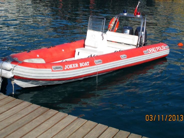 Police Boat,,Antalya,old harbour