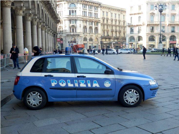 FIAT - Polizia Milan - Italy