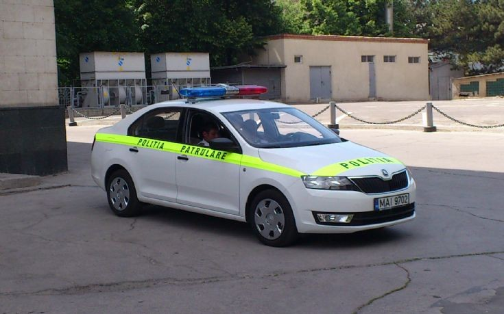 Skoda Rapid New Moldova Municipal Patrol Car