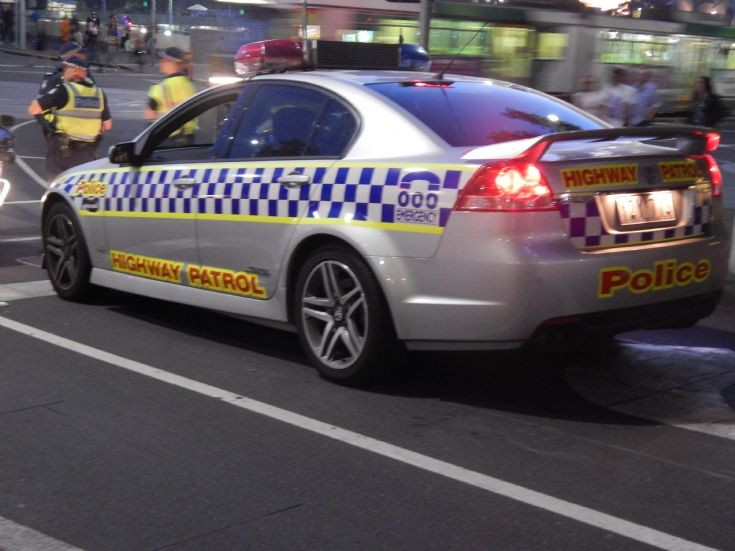 Victoria Highway Patrol Holden Commodore SS.