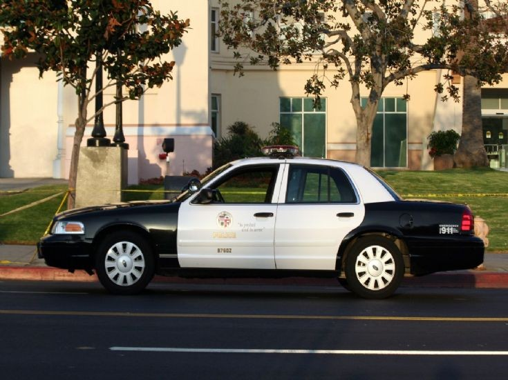 Ford Crown Victoria, LAPD