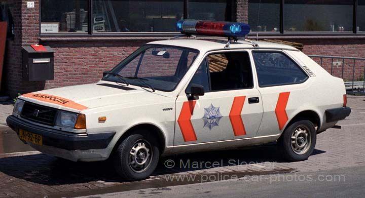 Rijkspolitie Volvo 340 Patrolcar