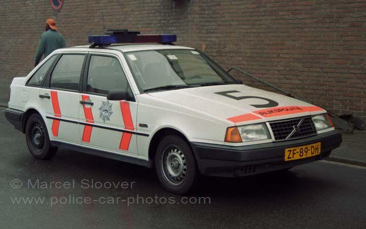 Rijkspolitie Volvo 440 Patrolcar