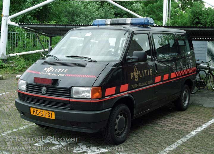 Politie Zuid-Holland Zuid Black Volkswagen