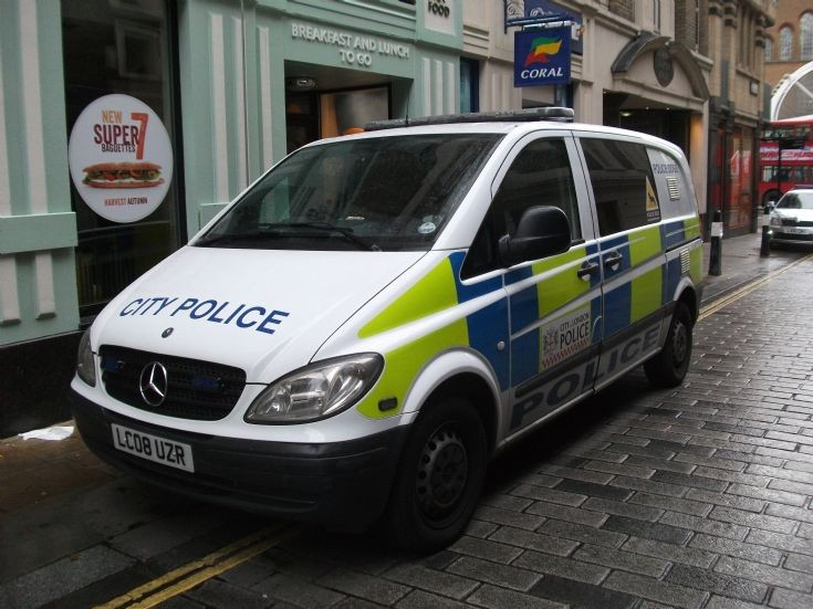 City Police Mercedes