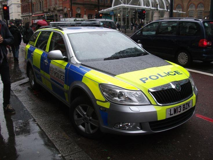 City Police Traffic car