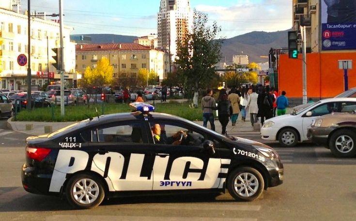 Mongolia Police