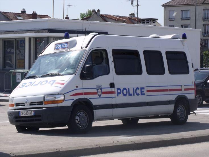 Le Bourget Airport police van.