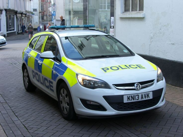 Devon and Cornwall New response  Police car