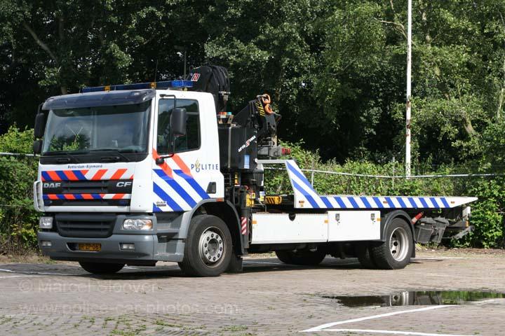 Politie Rotterdam Rijnmond DAF 65 CF Tow truck
