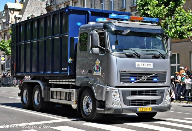 Volvo FH Anti Riot Truck Luxembourg