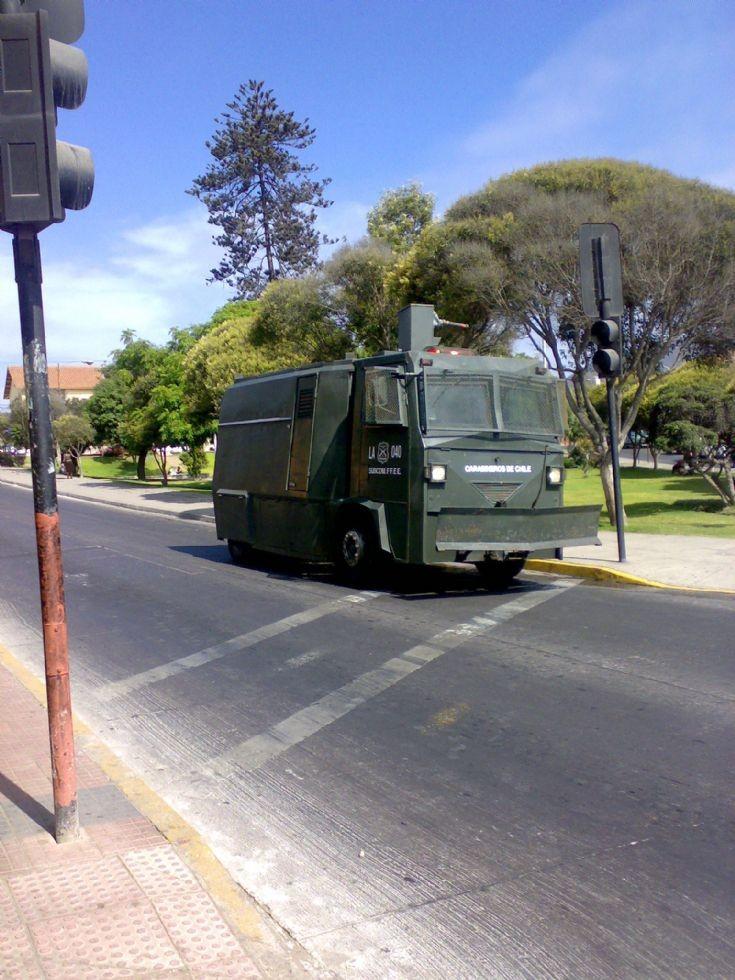 Carabineros de Chile. LA-040