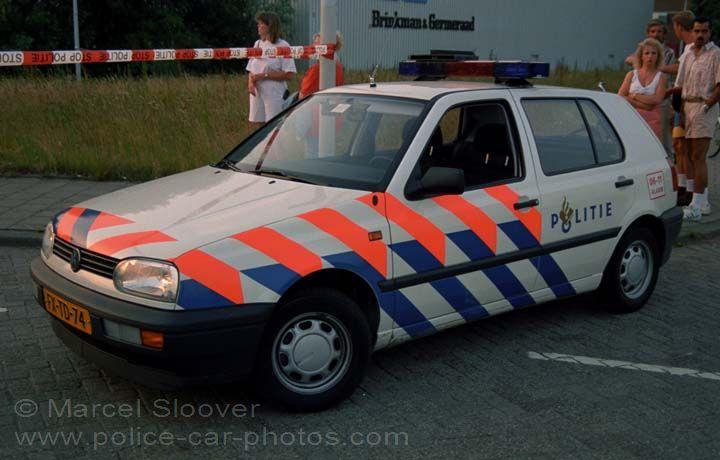 Politie Rotterdam Rijnmond VW Golf