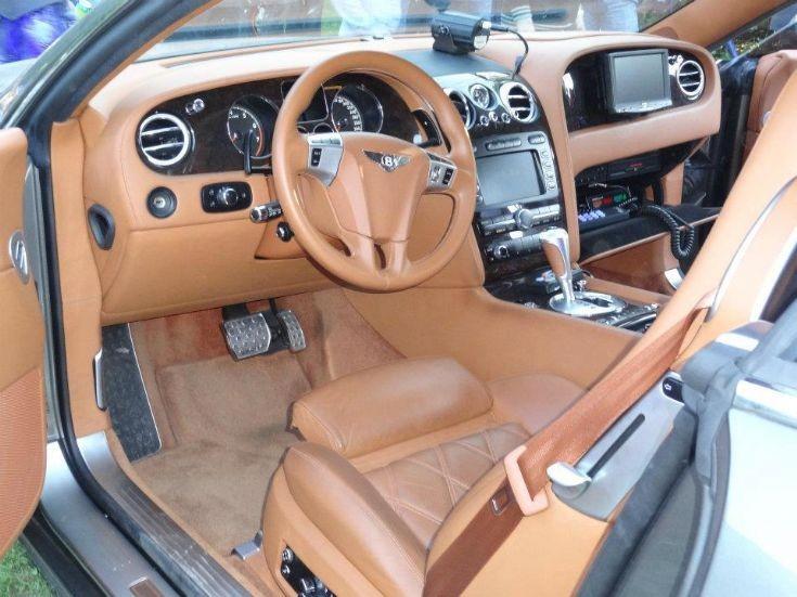 Bentley Continental GT 6.0 L W12 twin-turbo