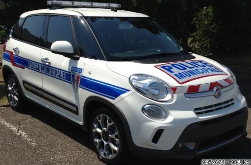 FIAT 500L TREKKING POLICE MUNICIPALE