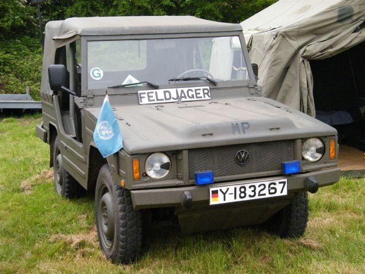 Nato Military Police Volkswagon