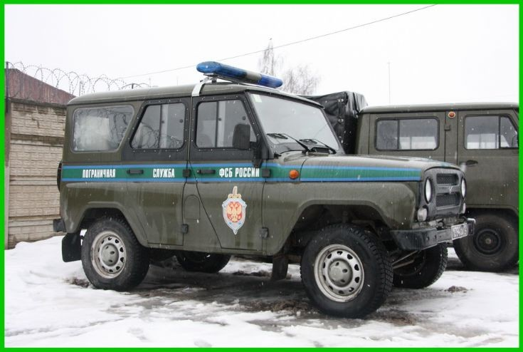 UAZ-HANTER     RUS  BORDER  GUARD