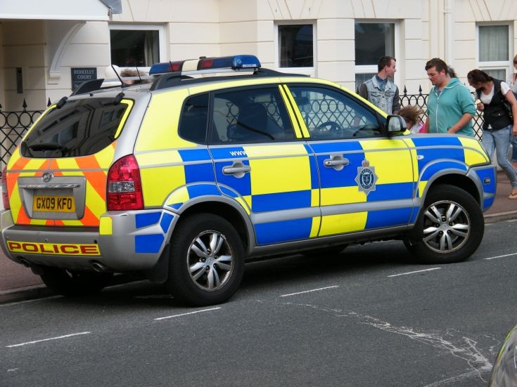 Sussex Police Hyundai
