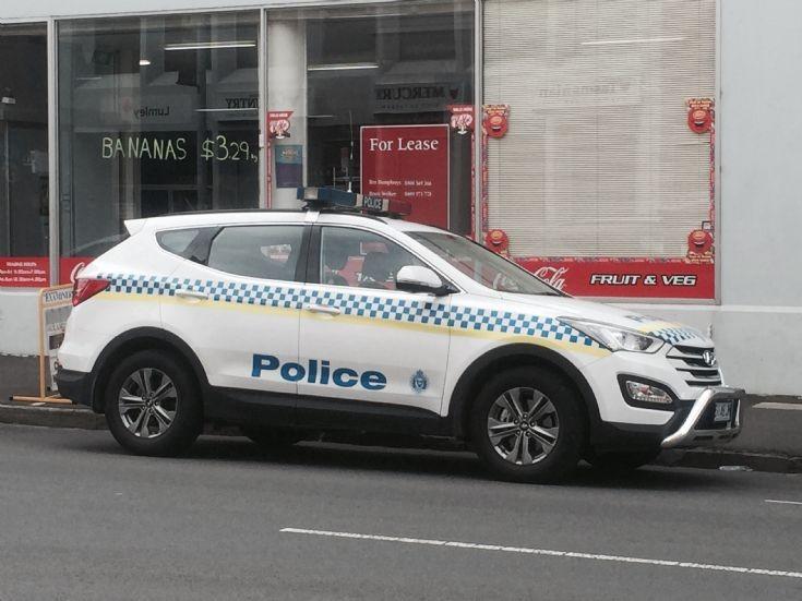 Tasmanian Police Hyundai Santa Fe