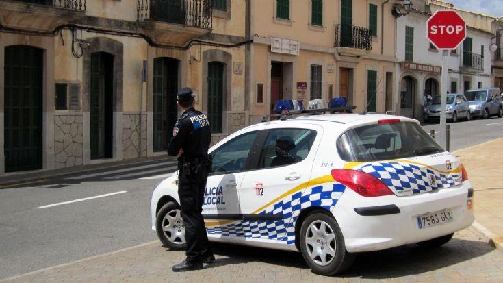 Peugeot 308 spanish police car