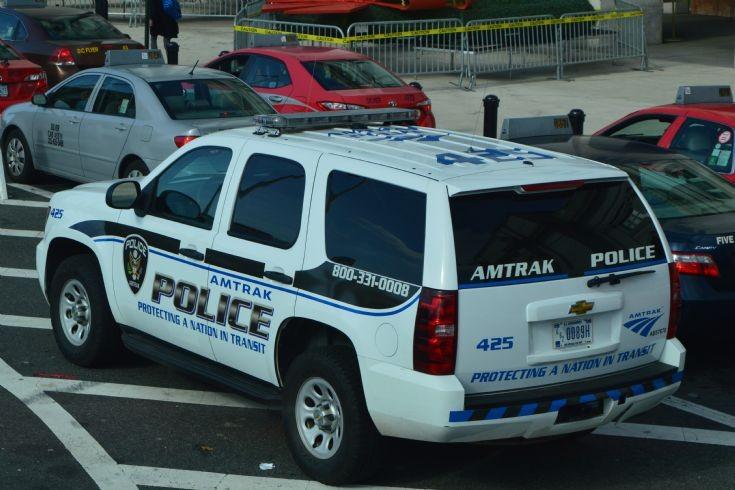 Amtrak Police Suburban