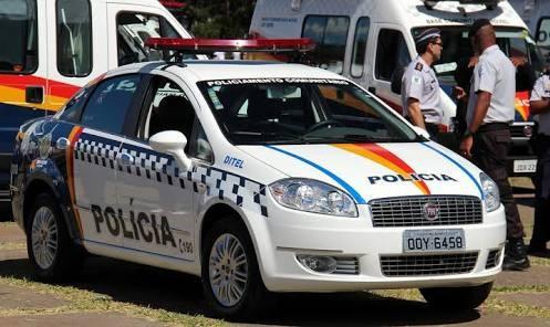 Brazilian police car