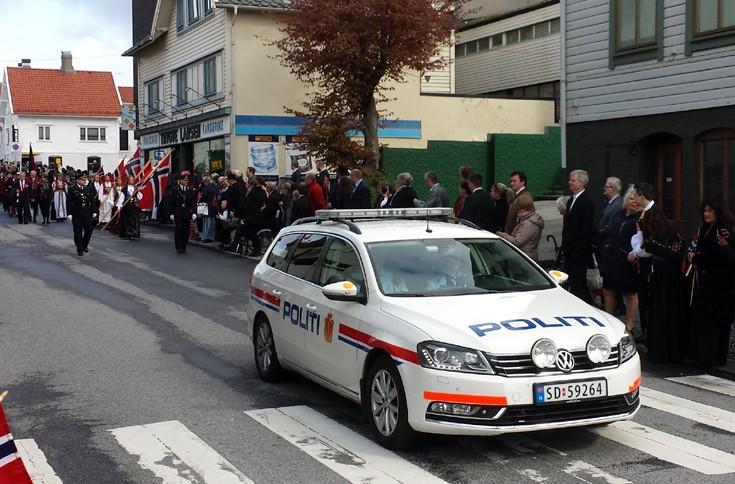 Norwegian police VW Passat